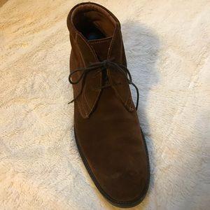 Men's Johnston & Murphy Suede Ankle Boots Sz 12